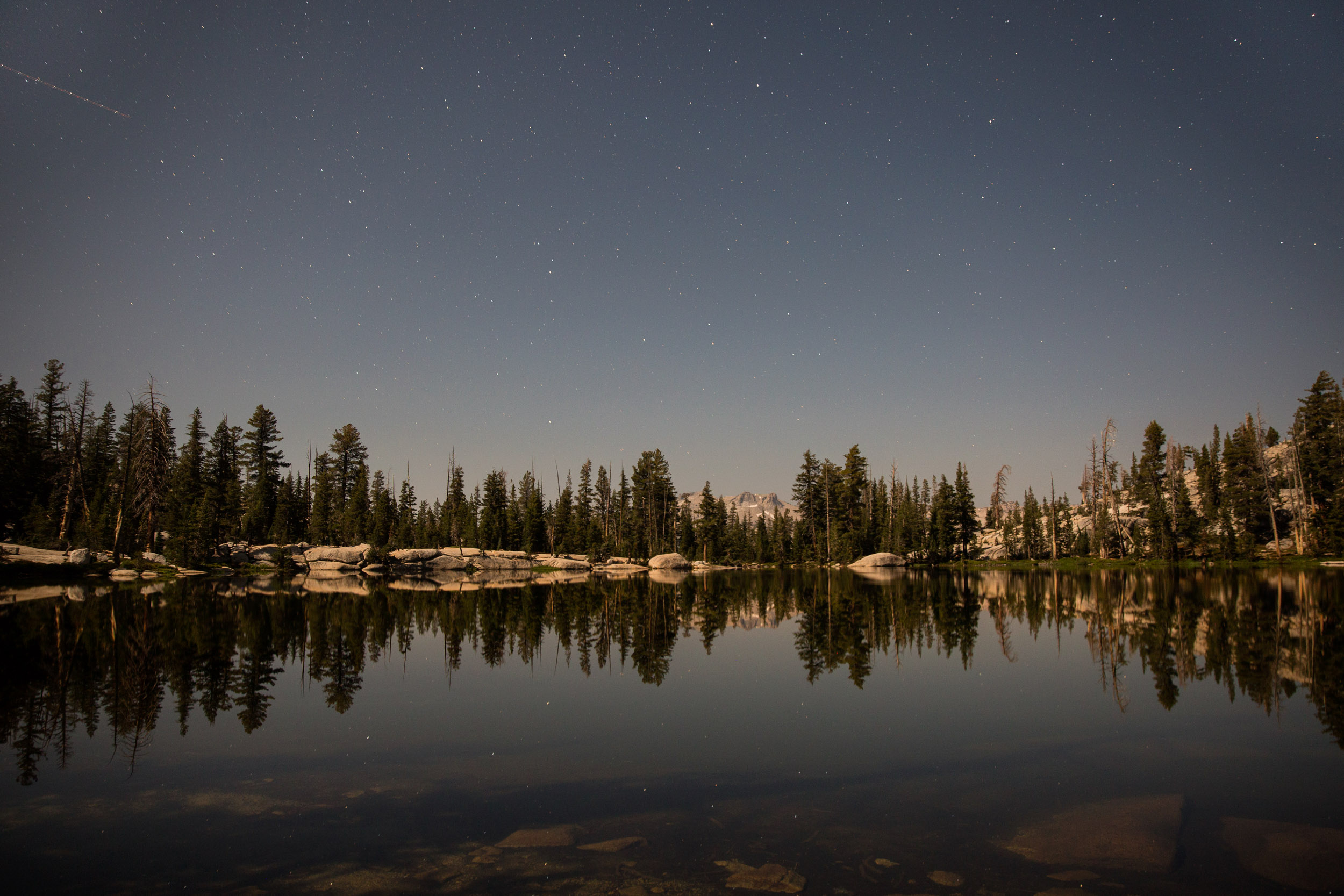 Thru Hikers on John Muir Trail
